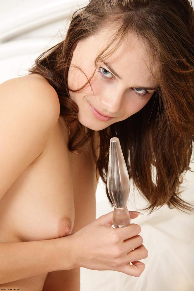 orgasme Vol in haar strakke bips