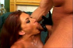Redheads met grote lullen grote tit blowjob Porn