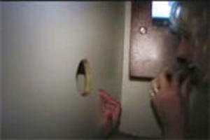 Amateur glory hole fun