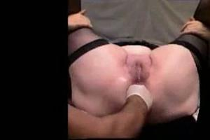 Anal fisting en squirting
